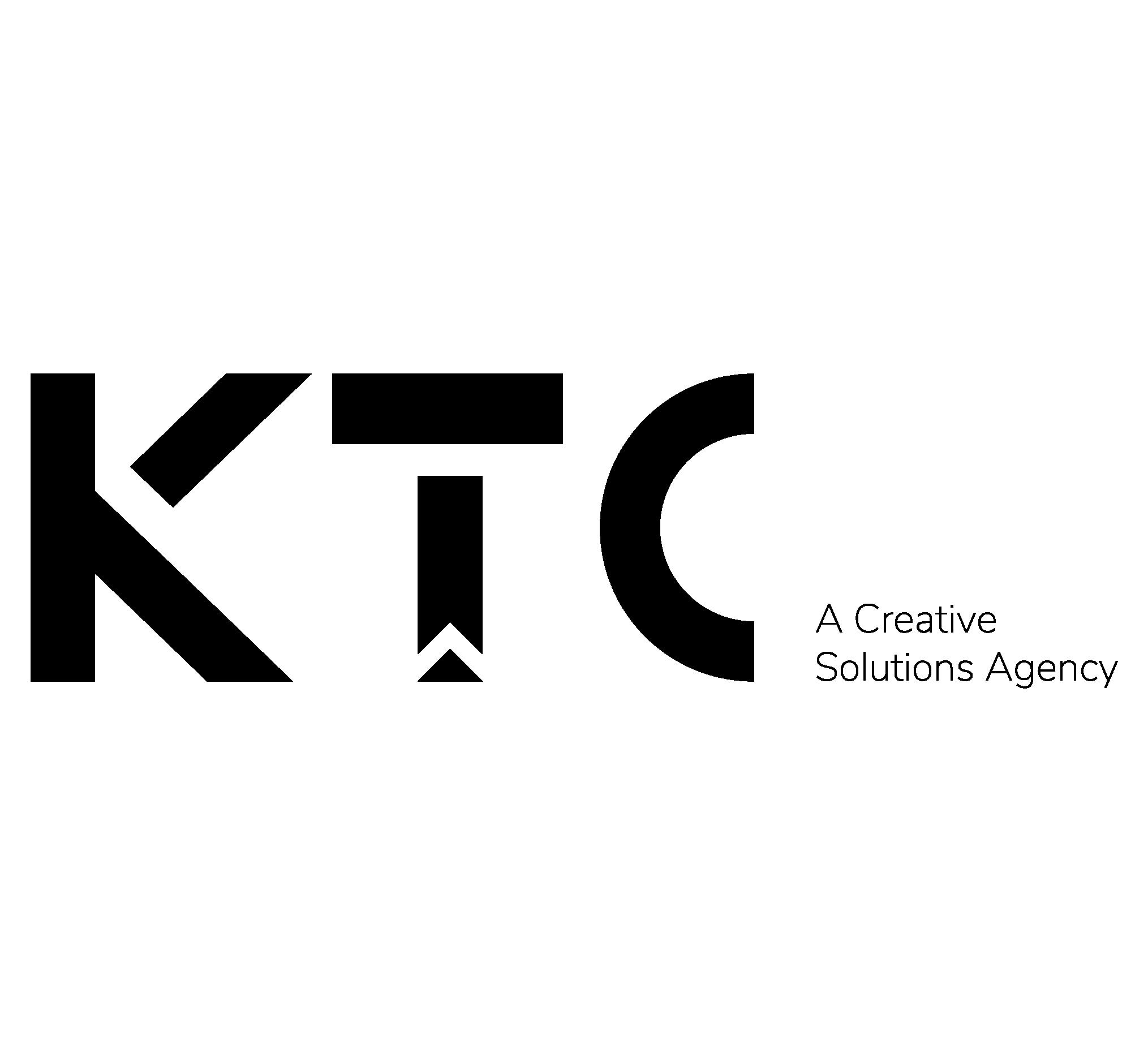 Logo + tagline Black